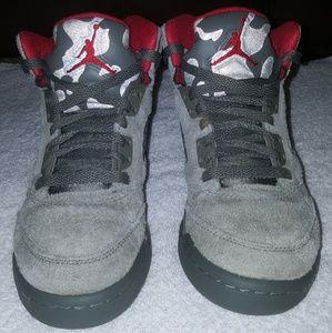 Nike Air Jordan Retro 5 camo/Sz 4